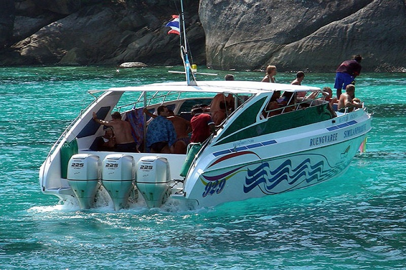Half day Khai Islands by Speed boat