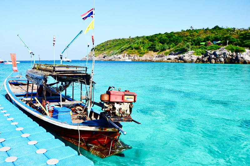 Raya Island (Racha) by Speed Boat